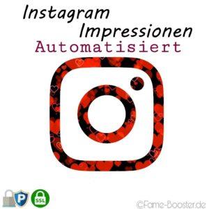 Instagram-auto-impressionen